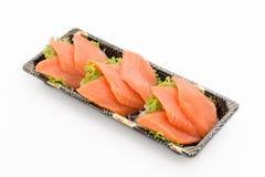 Salmon raw sashimi Royalty Free Stock Photos