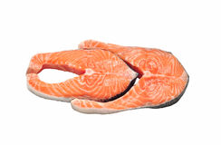 Salmon raw Royalty Free Stock Image