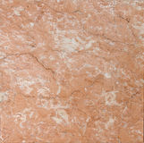 Salmon red textured marble Royalty Free Stock Image