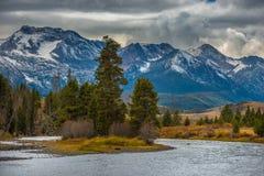Salmon River Lower Stanley Idaho Royalty Free Stock Photos