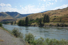 Salmon River nahe Riggins, Idaho Stockfotografie