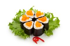 Salmon Roe Roll photo libre de droits