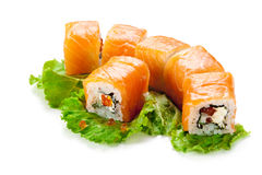 Salmon Roll Stock Image