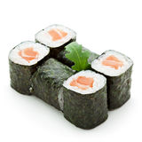 Salmon Roll Royalty Free Stock Photography