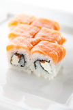 Salmon Roll Royalty Free Stock Photos