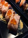 Salmon Roll Fotografia Stock