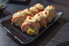 Salmon Roll Royalty Free Stock Image