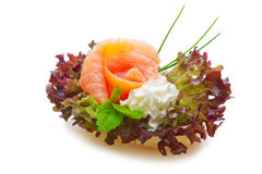Salmon roll . Stock Photography