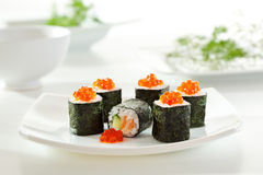Salmon Roll Stock Images