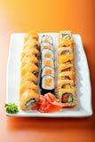 Salmon rolls Royalty Free Stock Photo