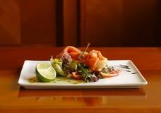 Salmon_salad Royalty Free Stock Photo