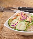 Salmon salad Stock Photos