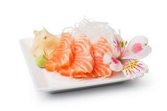 Salmon sashim royalty free stock image
