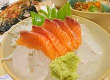 Salmon Sashimi Lizenzfreie Stockfotografie