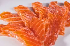 Salmon Sashimi Arkivfoton