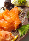Salmon Sashimi Royalty Free Stock Images