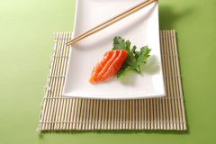 salmon sashimi Стоковая Фотография