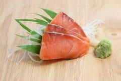 Salmon sashimi Stock Image