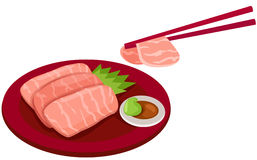 Salmon sashimi Royalty Free Stock Photo