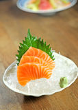 Salmon Sashimi Royalty Free Stock Photography