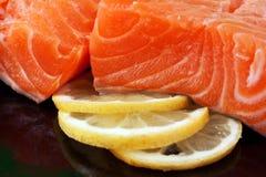 Salmon sashimi Stock Photos