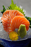 Salmon sashimi Stock Images