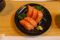 Salmon Sashimi Stockfotografie