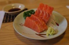Salmon Sashimi Lizenzfreies Stockbild