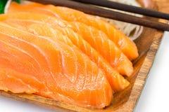 Salmon Sashimi Images stock