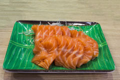 Salmon Sashimi Images stock