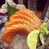 Salmon Sashimi Imagen de archivo