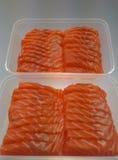 Salmon Sashimi Immagini Stock