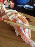 Salmon Sashimi Imagens de Stock Royalty Free