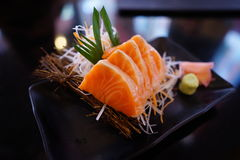 Salmon Sashimi images libres de droits