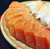 Salmon Sashimi Photos stock
