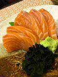 Salmon Sashimi Royalty-vrije Stock Foto