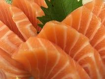 Salmon Sashimi Stockbilder