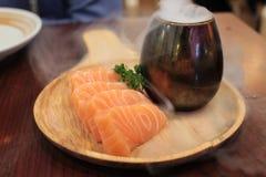 Salmon Sashimi Arkivbild