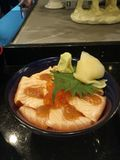 Salmon Sashimi Photographie stock