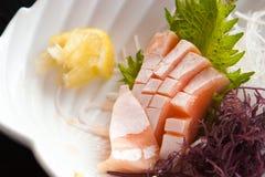 Salmon Sashimi Lizenzfreie Stockfotos