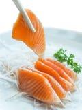 Salmon sashimi Royalty Free Stock Images