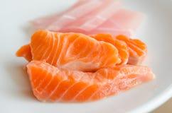 Salmon sashimi Royalty Free Stock Image