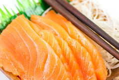 Salmon sashimi Royalty Free Stock Image