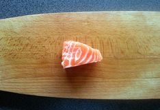the salmon sashimi, Japanese food, japan Royalty Free Stock Photography
