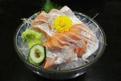 Salmon Sashimi, japanese food Royalty Free Stock Photography