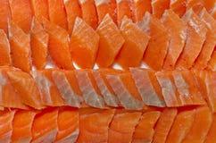 Salmon sashimi , Salmon slice Royalty Free Stock Image