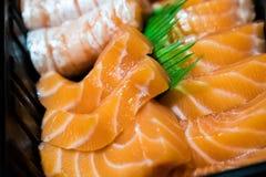 Salmon Sashimi stock afbeeldingen