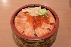 Salmon sashmi Royalty Free Stock Photography