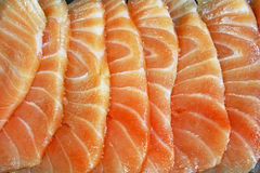 Salmon Seshimi Royalty Free Stock Photos