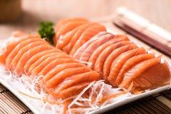 Salmon shsimi Стоковое фото RF